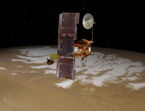mars-odyssey-south-pole