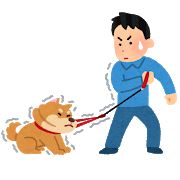 pet_sanpo_iyagaru_dog.png